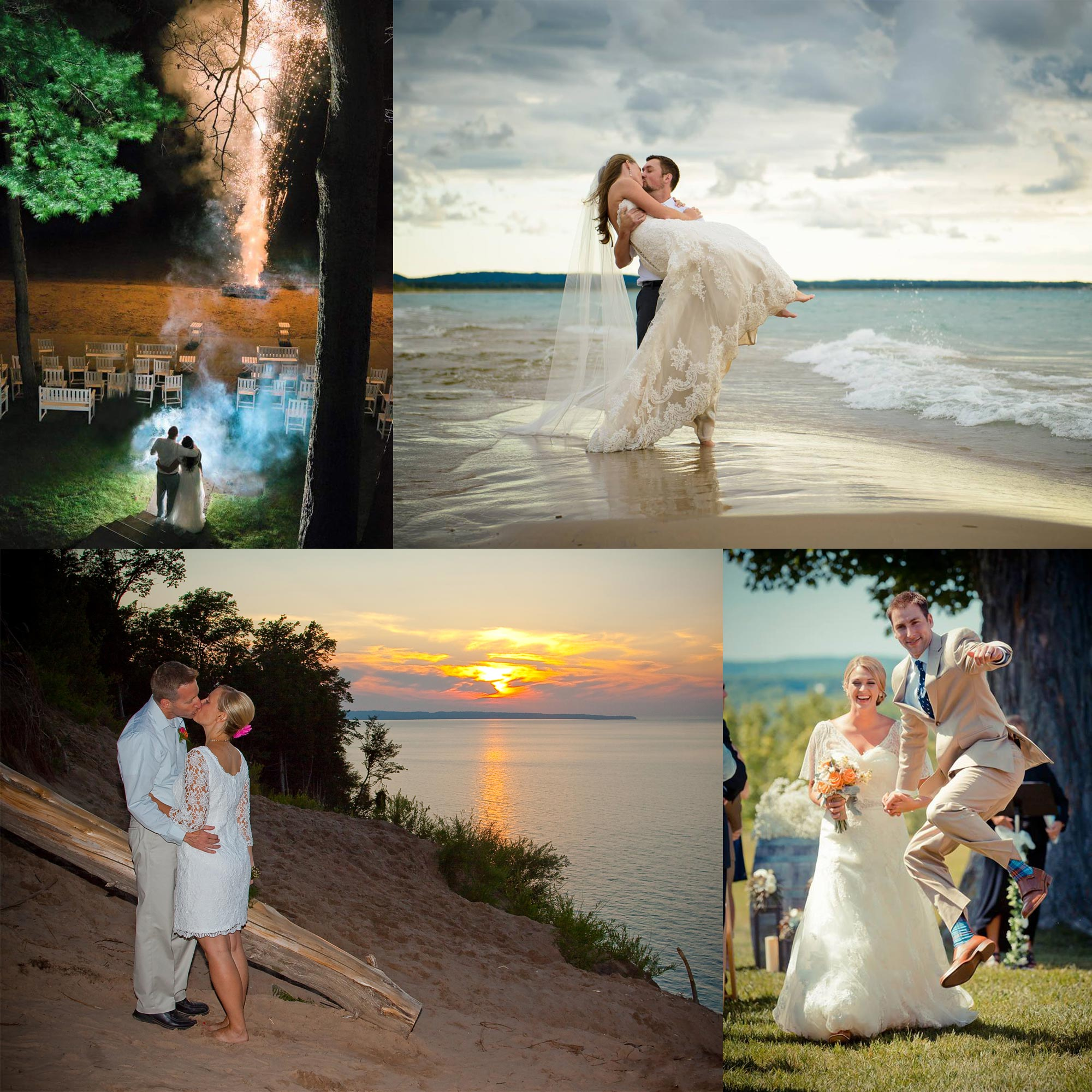 wedding venues collage